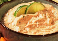 Spicy Chipotle Lime Dip -- a perfect Mrs. Dash recipe - mrsdash.com #saltsubstitute #nosalt #dip
