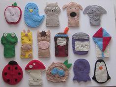 Alphabet Finger Puppets