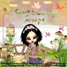 Piece of Mind kit by Sweet Cravings Scraps with a poser by MediEvil Creations...available at www.wilma4Ever.com/shop/
