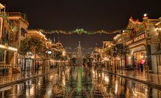 I want to stroll down Main Street, U.S.A. Smell the popcorn from the vendors and the fudge from the confectionery. Pop into the shops I usually wouldn't visit, watch the old cartoons at the theater and then spend spare change at the Penny Arcade. Grab a pastry and then find a Christmas tree to sit under at Coke Corner, and settle in for some Rag Time.