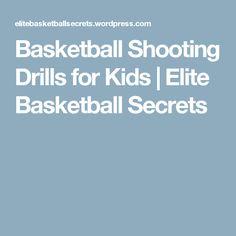 Basketball Shooting Drills for Kids - basketballtips Basketball Drills For Kids, Basketball Shooting Drills, Basketball Tricks, Basketball Information, Nba News, Training Tips, The Secret, Improve Yourself, Tinder