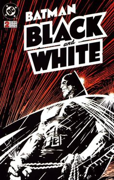 Batman: Black and White cover by Frank Miller Batman 2, Superman, Comic Book Artists, Comic Artist, Comic Books Art, Tachisme, Heros Comics, Comic Book Heroes, Arte Dc Comics