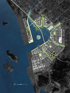Project: Qianhai Water City - james corner field operations