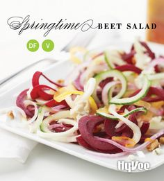 Colorful and boldly flavorful, this simple gluten-free salad will ignite a love affair with beets. Serve it with grilled steak or toss with garbanzo beans to keep it meat-free.
