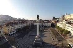 My Story Hotel Rossio by a drone Portugal, 18th Century, Paris Skyline, Building, Travel, Lisbon, Viajes, Buildings, Trips