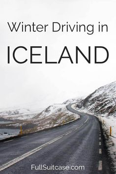 Experience-based tips for a self-drive winter trip in Iceland #Iceland #winter #travel