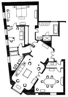 island resort suite floor plans | hotel suite floor plan