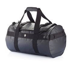 This tarpaulin duffel backpack can be carried both as a duffel bag and a backpack. The sturdy design makes it suitable for the most  trips and the cleverly designed straps increase the comfort of carrying the bag. Inside it has one main compartment with 1 mesh pocket and two smaller pockets.