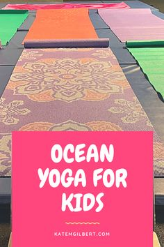 Teaching kids yoga? Try my tips for a beach themed class! We open with a grounding exercise and story, then move like ocean animals!