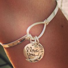 ...and we love this bracelet! Those charms are so sweet. Fellas, take notes!
