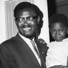 """SUNU on Instagram: """"Patrice Lumumba and his daughter Juliana, 10 August 1960. Photo courtesy of AP/Babout. #SUNUnotes #SUNUjournal"""" Father, Daughter, Shit Happens, Instagram, Pictures, Pai, My Daughter, Dads, Daughters"""