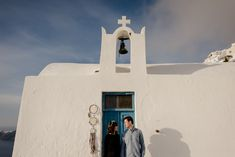 Engagement in Santorini - Jenny and Fanis Destination Wedding, Wedding Planning, Santorini Wedding, Greece, Engagement, Building, Amazing, Pictures, Photography