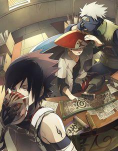 Sasuke & Naruto & Kakashi | Naruto #anime