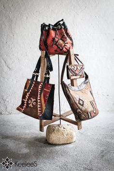 our handbags - ethical, natural and different Bucket Bag, Handbags, Collections, Natural, Fashion, Moda, Fashion Styles, Hand Bags, Purse