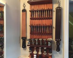 Awesome shave gear wall display!