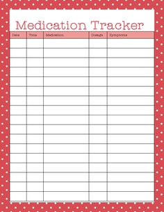 Your Medicine Cabinet to Stay on Top of Health Free Printables - medication tracker is useful for organizing medication too.Free Printables - medication tracker is useful for organizing medication too. Planner Pages, Printable Planner, Planner Ideas, Planner Diy, Free Planner, Children's Medicine, Medicine Journal, Medicine Cabinets, Blood Sugar Chart