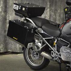 Happy Trial - Aluminum Pannier Kit TETON BMW R1200GSW