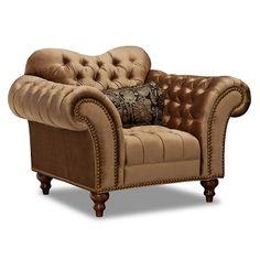 Stephania Upholstery Chair | anyone for a throne?