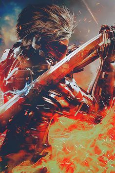 Metal Gear Rising - Revengeance.  Raiden