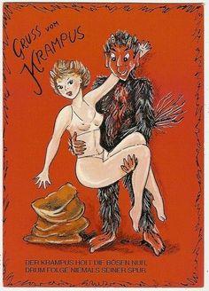 krampus & lady