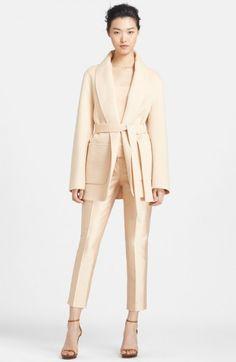 Michael Kors Women's Plush Melton Wool Jacket   Coat, Jacket and Clothing