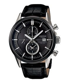 Casio Edifice. Affordable style.