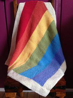 Ravelry: Garter Stitch Baby Blanket pattern by Kim Tanner; free