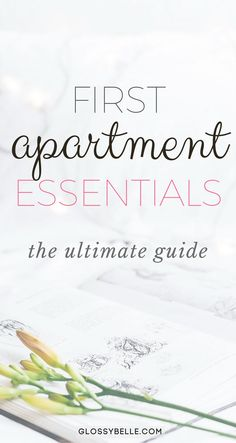 If you're about to move out into your first apartment, here are the most important apartment essentials you'll need to be ready to move out on your own. | adulting | move out for the first time | moving out | independence | college essentials | college dorm | room essentials | home decor