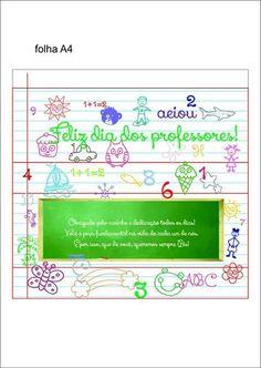 Caixa Bis Dia dos Professores - Pronto para imprimir.