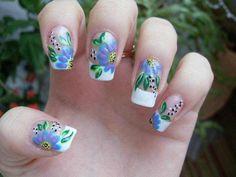 50 unique nail art designs 2016 - style you 7 Nail Art Designs 2016, Nail Manicure, Love Nails, Art Tutorials, Summer Nails, Unique, Creative, Style, Polish
