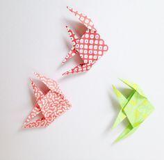 poissons origami michiaki -origami fish