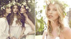 coroa de flores publicada no blog de casamento Colher de Chá Noivas
