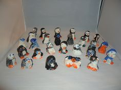 Clay Penguins made by Kids R Kids Pre K