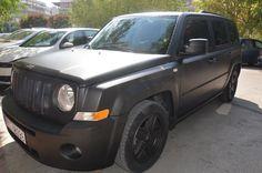 Matte Black Jeep Patriot