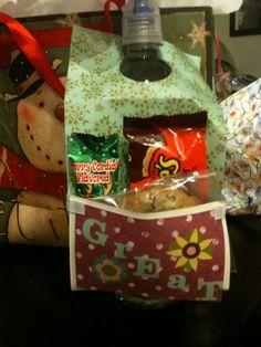 Winter Holiday teacher gift