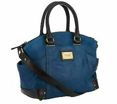 Tignanello Glazed Vintage Leather Satchel. Unbelievable value here. This is our richest leather yet! Get it at QVC.com now for only $114.96!