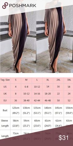 Twisted bono maxi long dress A super sexy and classy maxi two tone dress. Sandals, heels, you name it!! So comfy.                   118 Boutique  Dresses Maxi