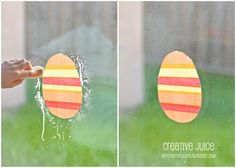 "Tissue Paper window ""clings"" -- single use.  use for school window displays or Advertise upcoming event"