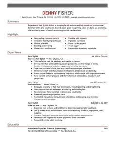 Resume For Fashion Stylist Assistant Fashion Stylist Cover Letter