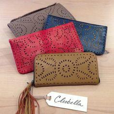 cleobella, hand made wallets! #perle #sonoma #handmade #bali #wallet #boho