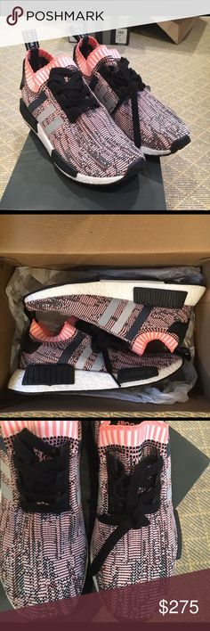 Adidas NMD R1 Pink Glitch Camo Woman's size 7 Adidas NMD R1 Pink Glitch Camo limited release adidas Shoes Sneakers