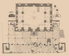 Rüstempaşa Camii Planı,İstanbul
