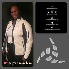 Quotable. She loves the gear. Join in shadowsathletics.com/shop #IAmShadowsAthletics
