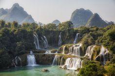 - Ban Gioc-Detian Falls, China