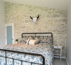 My WoodWall Brushed Coral wall panels bedroom decor inspiration