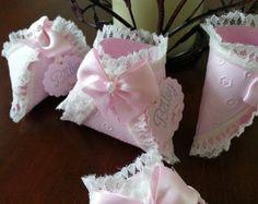 Pañal favorece encaje crema / ducha Favor de bebé / Baby Shower favorece / decoración de la ducha del bebé favores y encaje