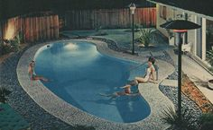 Anthony's Pools advertisement, Los Angeles Times Home Magazine, October 1963