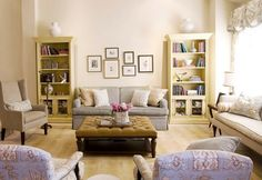 French Country with a Modern Twist traditional living room decor ideas