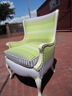 Accent Chair  Bamboo by Urbanmotifs on Etsy, $650.00. They have the neatest chairs!