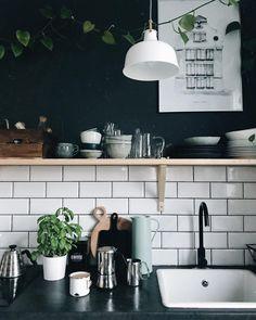 Dream Home Interior .Dream Home Interior Home Interior, Kitchen Interior, Interior Design Living Room, Interior Paint, Decoration Inspiration, Interior Design Inspiration, Boho Kitchen, Kitchen Decor, Kitchen Ideas